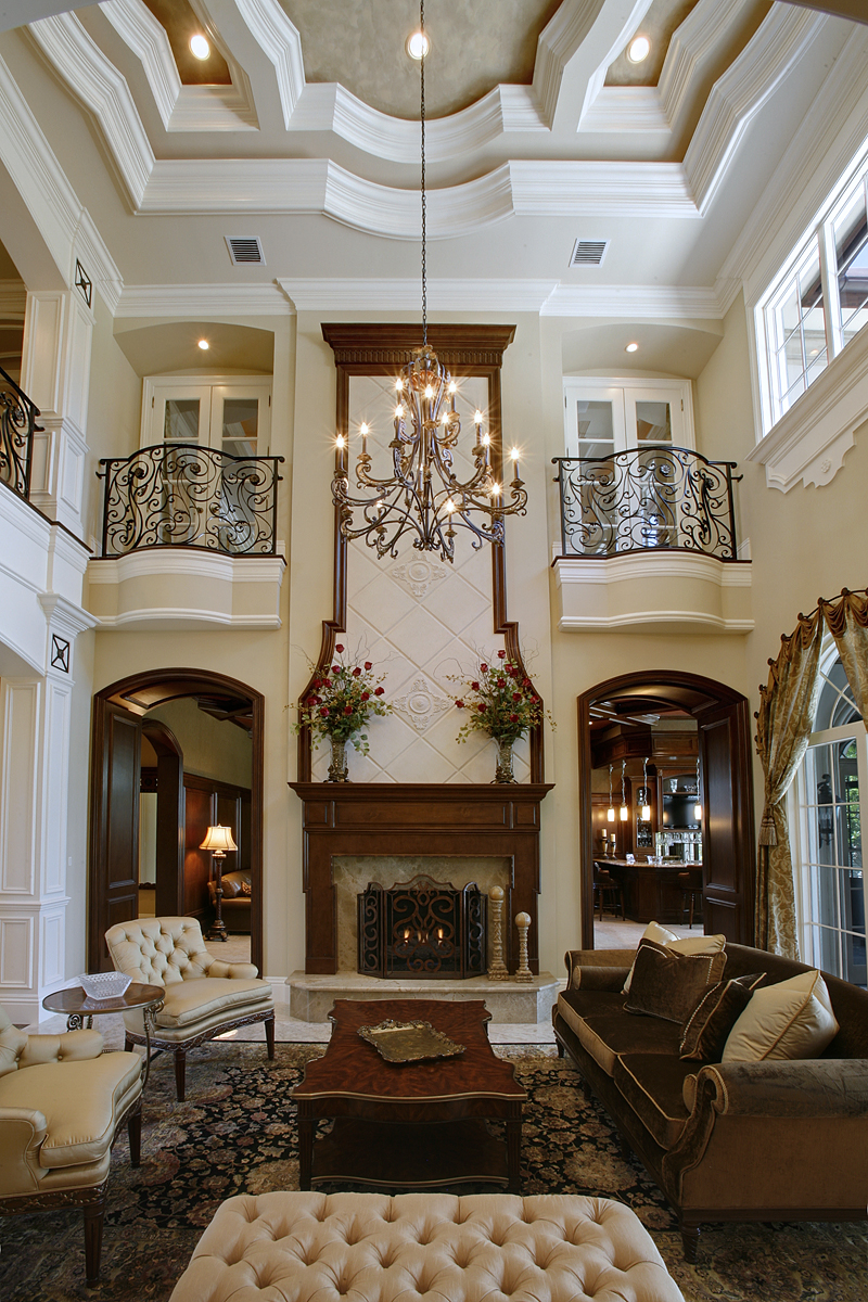 Living Room In Boca Raton