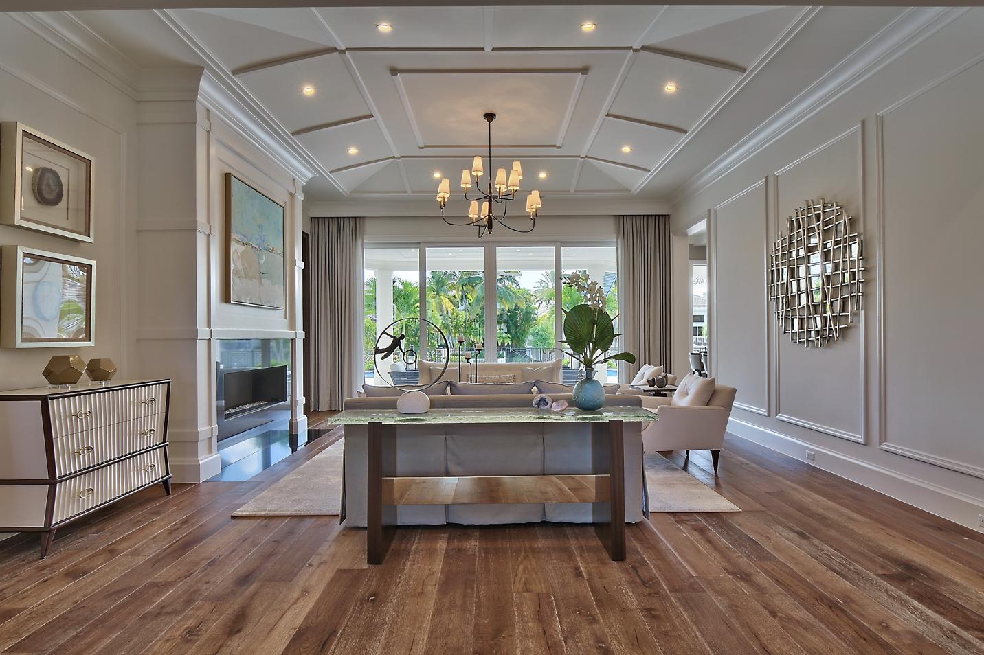 Living Room Foyer : Portfolio foyer living room srd building corp